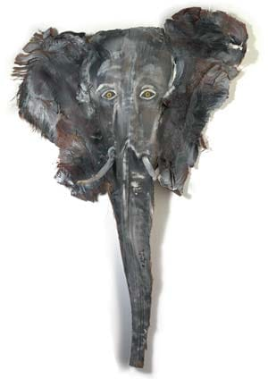 Collecting blown down palm tree trunk husks, local artist Shimko uses them as his playful canvas, transforming them into a painted jungle of elephants, gorillas, tigers, and giraffes; $85-$250. East of Java Importers, 450 S. Indian Canyon Dr., Palm Springs. 864-6200