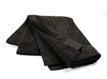 Stave off the last of winter's chill with this double-faced throw in Espresso. It's imported from Italy in reversible luxury: ribbed silk/acetate on one side, wool boucle on the other. Comes in a silk gift box from the Baker Gift Collection, $295. To the trade at Laguna Design Center, 23811 Aliso Creek Road, #177, Laguna Niguel, (949) 643-2073.