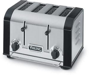 Viking VT 2 Slot toaster in Cobalt Blue.
