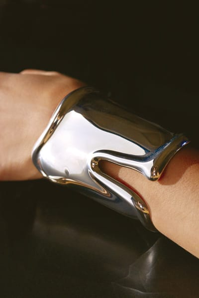 Elsa Peretti sterling cuff from Tiffany & Co.