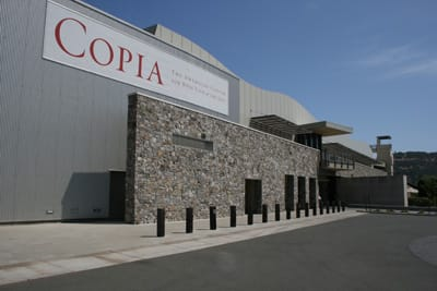 Napa's Copia affords wine country visitors an opportunity to learn about wine, food, and art.