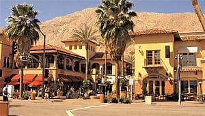 Mercado Plaza on Palm Canyon Drive across from La Plaza won the Gold Nugget Grand Award in 2001.