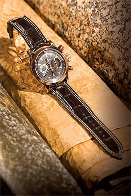 Jaeger-LeCoultre master compressor chronograph from Leeds & Son Fine Jewelers on El Paseo in Palm Desert. ($20,100)