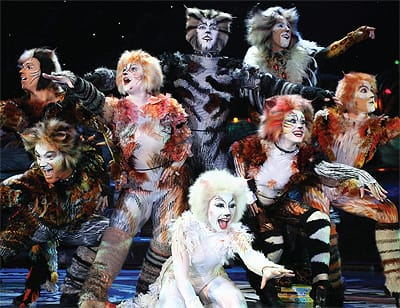 "The one-time longest-running musical on Broadway, ""Cats"" continues to mezmerize audiences with a cast of actors portraying cats and the evocative signature song, ""Memory."" The show comes to McCallum Theatre for five performances in March."