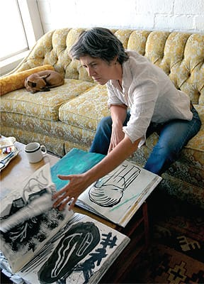 Jill Giegerich, who works in a variety of media in her Joshua Tree studio, has been collected by some of the most important art museums and institutions in the United States.