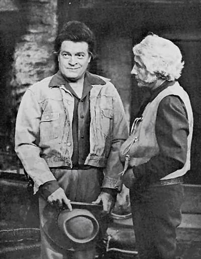 "The popular ""Bonanza"" television inspired an amusing sequence in a Bob Hope Show. Hope played the role of ""Hoss Cartwright"" and Bing was Hoss's father ""Ben Cartwright."""