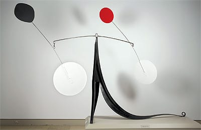 """One of Gwendolyn Weiner's favorite sculptures in her family's collection, Alexander Calder's 1968 """"Lezard"""" (The Lizard) is among the museum's most recognizable works."""