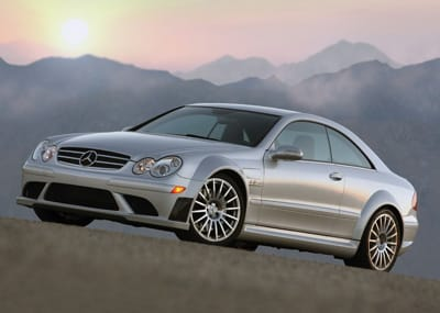 This rare, handmade, two-door Mercedes coupe targets Formula One motor-sports fans.