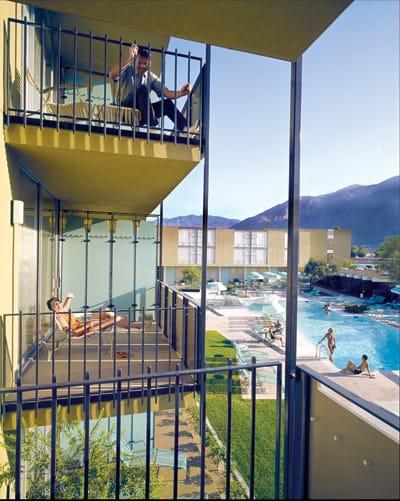 Spa Hotel, William Cody, 1962. Photo: 1963.