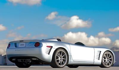 The $305,000 C16 is based on the Chevrolet Corvette.
