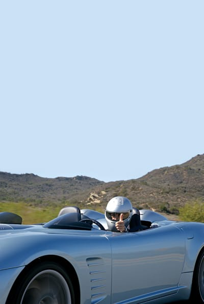 """""""Great-looking cars are designed by one man, using one thought."""" One look at the C16 Speedster tells you he's is right."""