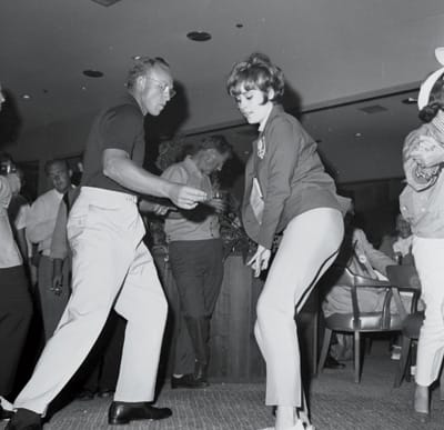 Jill St. John gets her groove on in the mid-'60s