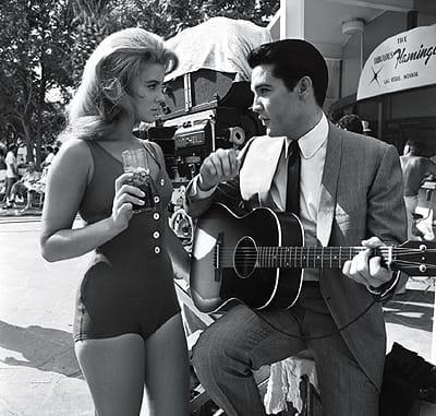 Ann-Margret starred with Elvis Presley in 1964's <i>Viva Las Vegas.</i> Courtesy MGM