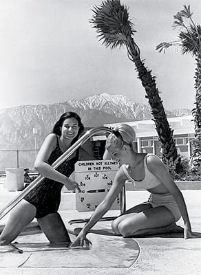 Desert Hot Springs Hotel, 1965.
