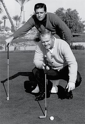 Gary Player and Jack Nicklaus.