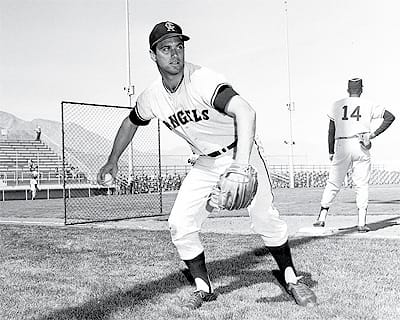 Angels spring training, 1967.