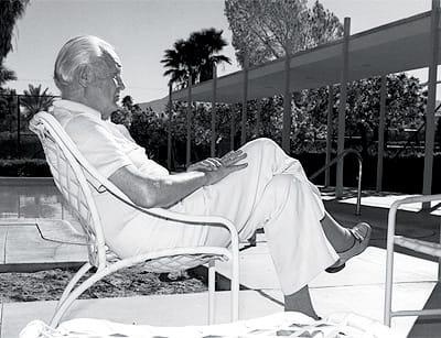 A bullish Charles Farrell made the desert an enduring destination for tennis lovers.