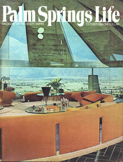 Palm Springs Life Cover - October 1969