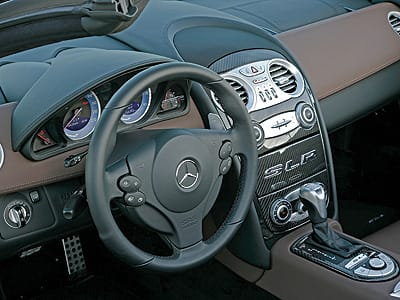 The SLR's electronics allow you to set myriad controls to your comfort level.