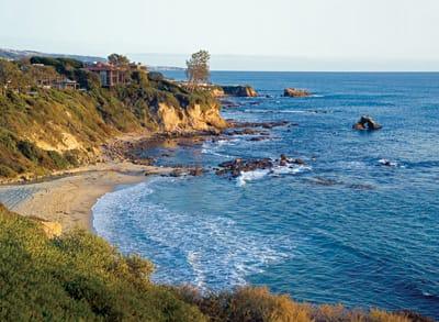 Southern Pacific Coast in Orange County California