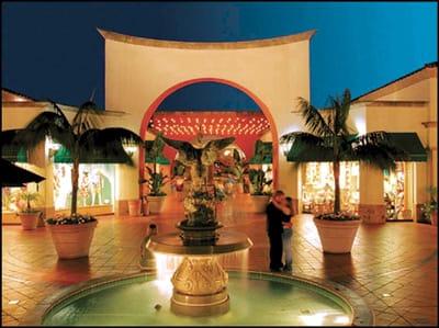 Fashion Island Mall in Newport Beach