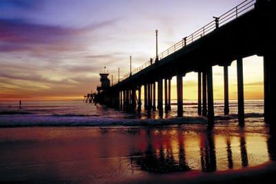 Huntington Beach Pier - Huntington Beach California