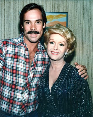 Mark with Debbie Reynolds