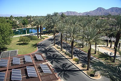 The City of Palm Desert has been an assertive leader in eco-friendly initiatives, offering incentives to businesses and residences that use energy-saving technology. The goal: 30 percent energy reduction.