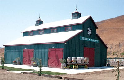 The new Dierberg-Star Lane Vineyards tasting room in Lompoc is removed from the actual winery operation.
