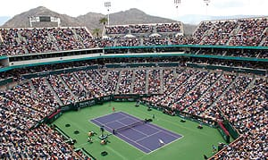 Indian Wells Tennis Tournament.