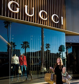 Gucci, located in The Shops of El Paseo, is one of the newest luxury brand stores to grace El Paseo.