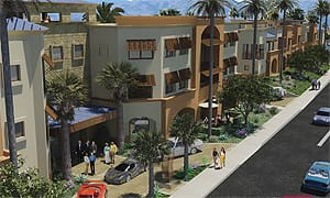 Hotel El Paseo will feature 106 rooms, 16 suites, and amenities.