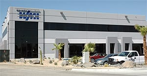 WMI's new 38,400-sq.-ft. facility in the Rancho Coachella Business Park.