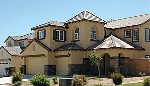 Valencia Homes feature quality Mediterranean designs.