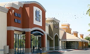 Coachella Plaza, a 90,000 sq. ft. retail center developed by Forest City and HRG.