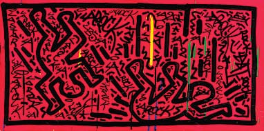 KEITH HARING: