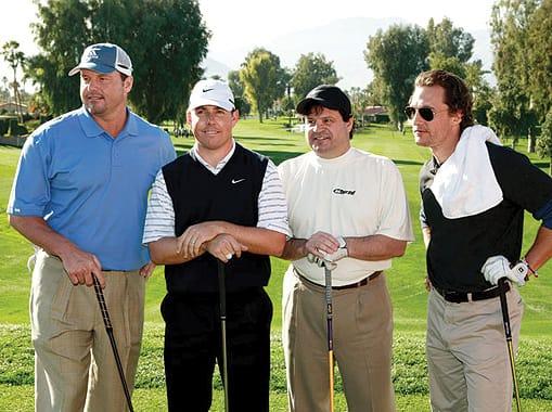 Roger Clemons, Justin Leonard, Mike Eruzione, and Matthew McConaughey