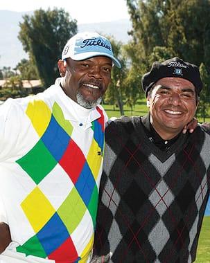 Samuel L. Jackson and George Lopez