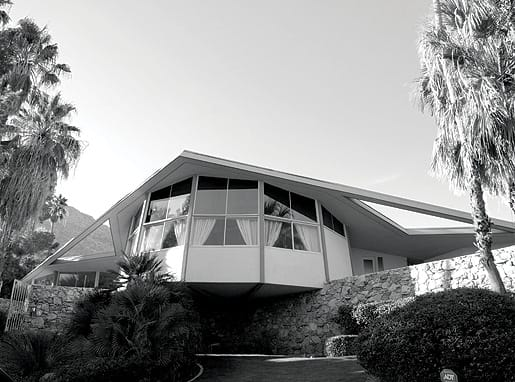 A recent photograph of The House of Tomorrow, built in 1960.