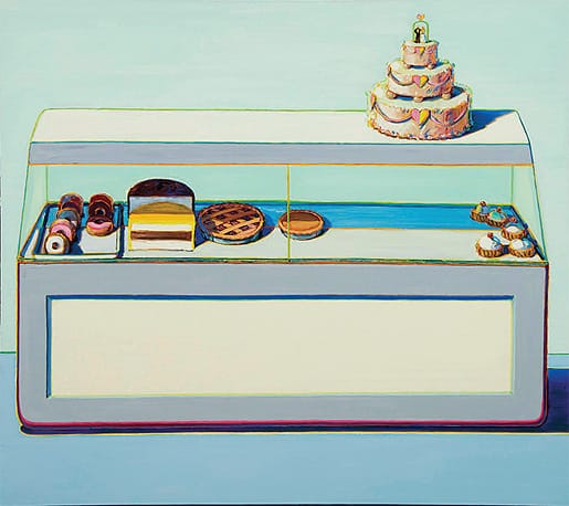 Bakery Case (1995), oil on canvas, Theibaud Family Collection