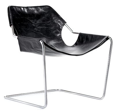 Architect Paulo Mendes da Rocha's Brazilian Paulistano Chair (1957), a sultry version of the Bauhaus classic, holds its own against its cantilevered cousins by Alvar Aalto and Mies van der Rohe. Just recently available in the U.S. market, the chair boasts a sinuous — and continuous — stainless steel frame. Choose a slipcover from black, white, or cognac leather or reversible floral/striped cotton by Rosita Missoni. $700 frame, $800 slipcover. Design Within Reach.