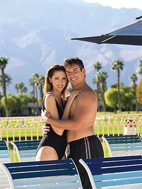 Doral Desert Princess Resort Palm Springs. Fashions courtesy Pete Carlson's Golf and Tennis, Palm Desert.