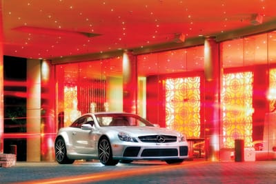 Mercedes-Benz AMG SL65 Black Series  Location: Riviera Resort & Spa
