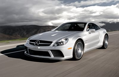 Mercedes-Benz AMG SL65 Black Series
