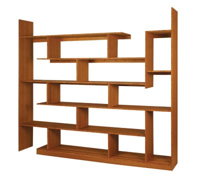If you like luxury served with a side of sustainability, here's your chance to maximize your style-cred while minimizing your environmental footprint. Brave Space Design's bamboo shelving unit touts eye-catching, asymmetrical cubbies and presents multiple possibilities for the display of your objets d'art. $2.975. www.bravespacedesign.com