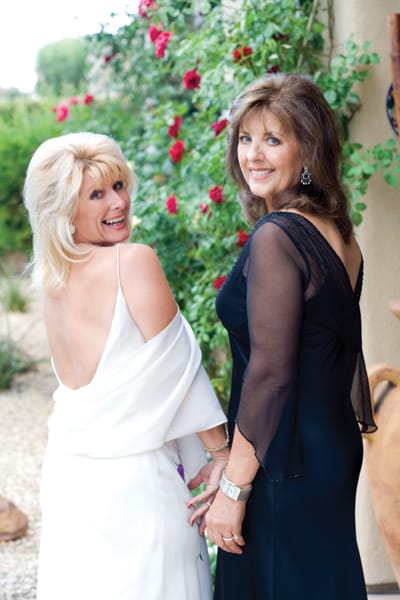 Elizabeth Dreyfuss and Dela Zimmer grew up in England and now live in the Coachella Valley after residing in different states.