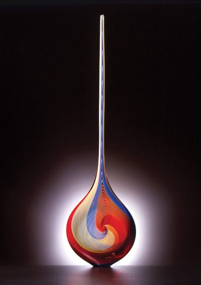 The turned axis distinguishes Angel Tear (2002).