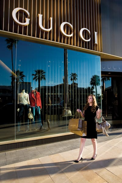 Luxury retailers have opened new shops on the new-look west end of El Paseo in Palm Desert.