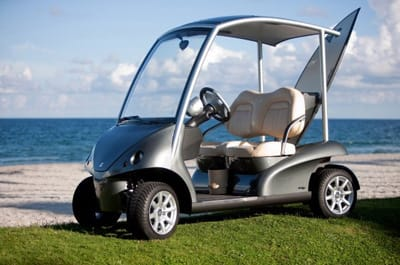All options can be specified when the car is ordered. Options will be factory mounted by Garia and ready at delivery.