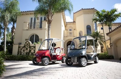 Conceived in 2005, the vision of Garia was to produce, without compromise, the best golf car in the world. To achieve this goal Garia has teamed up with companies around the globe who are unsurpassed in their fields.